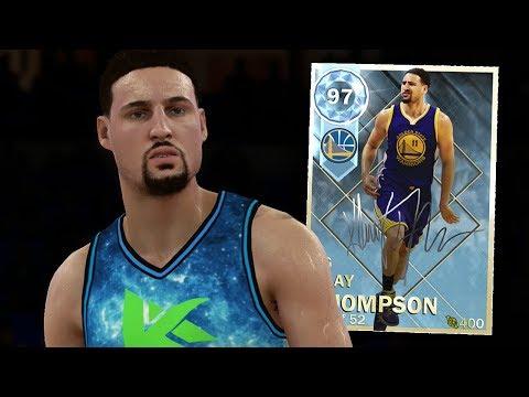 DIAMOND KLAY THOMPSON GAMEPLAY!! SUPER LIMITED! (NBA 2K18 MYTEAM)