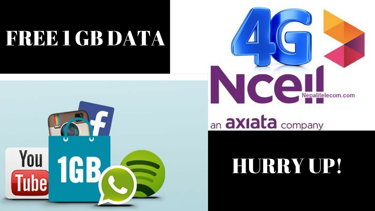 Latest Ncell 4G service in Nepal With special offer 1GB of data and  activation Fast guys