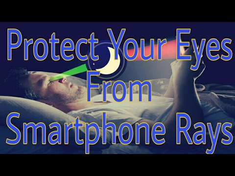 Protect your eyes from Smartphone's harmful rays!