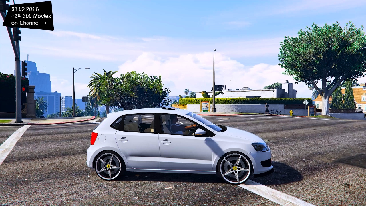 2014 volkswagen polo 6r tsi gta v mod enb 2 7k 1440p youtube. Black Bedroom Furniture Sets. Home Design Ideas