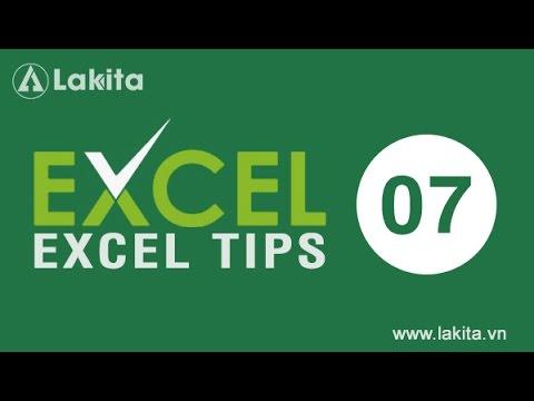 Thủ thuật Excel | Phím tắt Excel | Tip #7 Hướng dẫn thao tác nhanh với 7 phím tắt