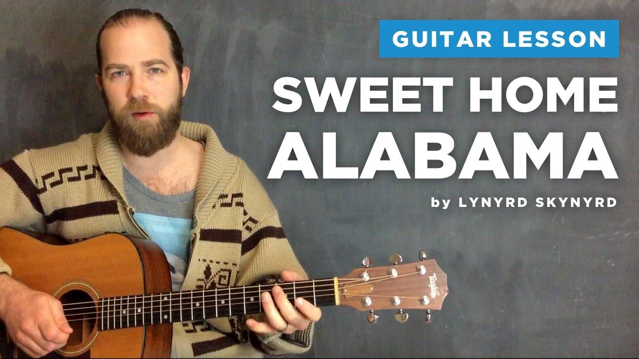 Florian baldus (florianbaldus@gmx.de) thats the main guitar part. Sweet Home Alabama By Lynyrd Skynyrd
