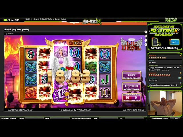 Lil Devil INSANE BIG HEARTSTOPPER Big Time Gaming