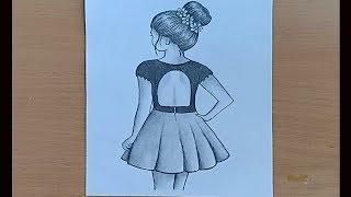 easy draw bun hair messy way