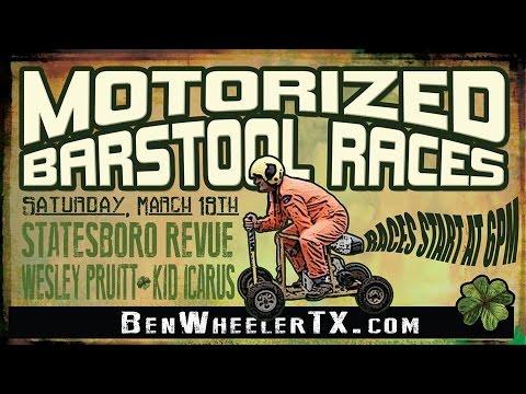 Ben Wheeler Motorized Barstool Races