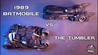 LEGO Batman UCS battle - the new 1989 Batmobile vs The Tumbler - building review and comparison