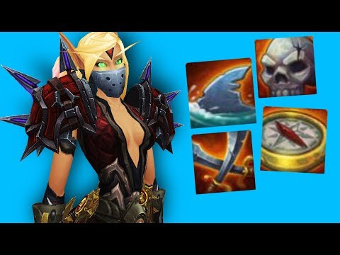 Blizzard! WHAT ARE YOU DOING!? - Outlaw Rogue PvP WoW Legion 7.3