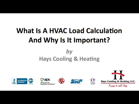 What Is A HVAC Load Calculation And Why Is It Important?