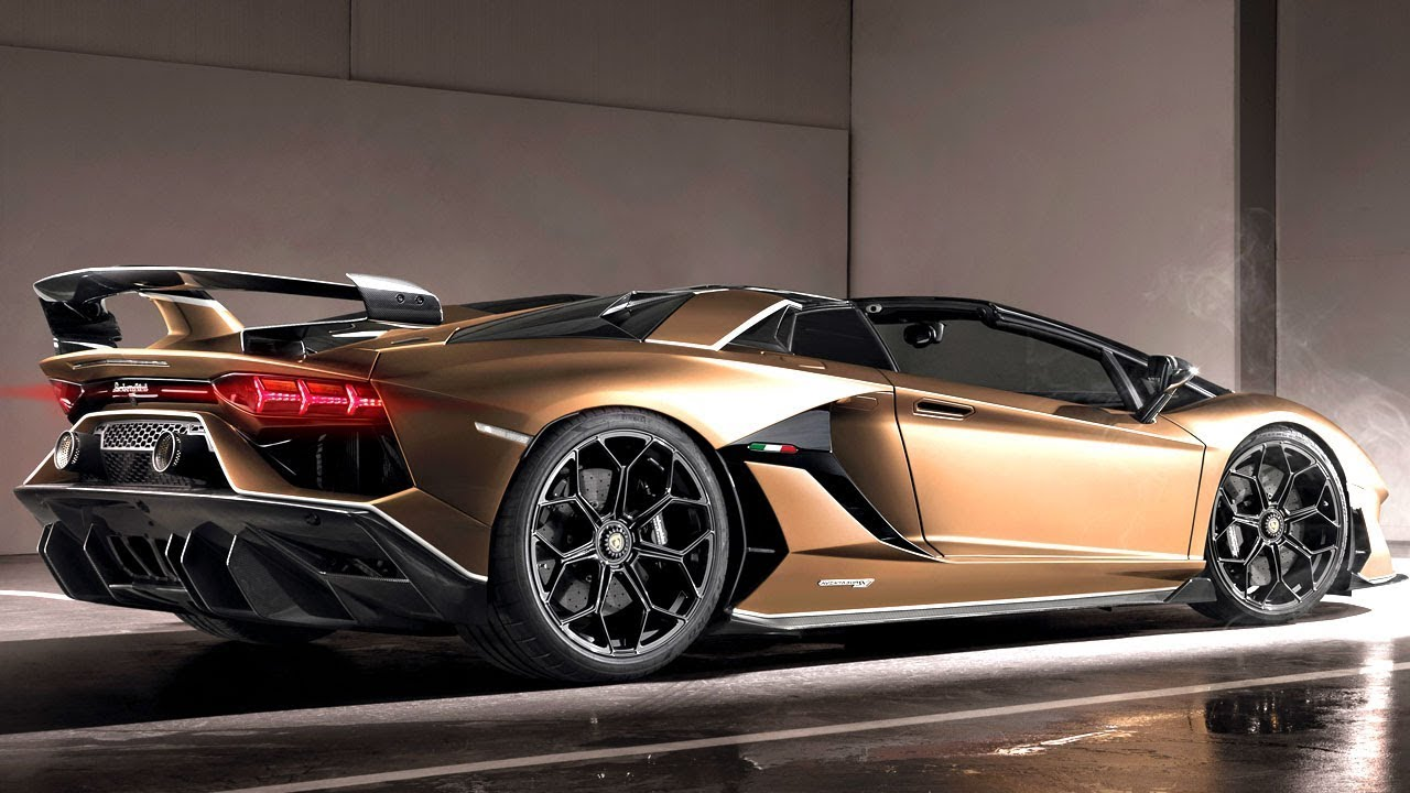 2020 Lamborghini Aventador Svj Roadster Walkaround Exterior And Interior
