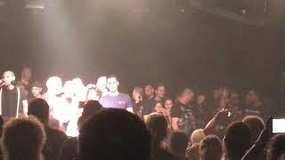 Abschiedsworte von Schkal, mit Abschiedslied Unantastbar United Club Konzert Adelsheim 29.09.2018