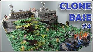 LEGO CLONE BASE MOC #4 - ПОСТРОЙКА ОГРОМНОЙ БАЗЫ КЛОНОВ - ПОЛЕ БИТВЫ