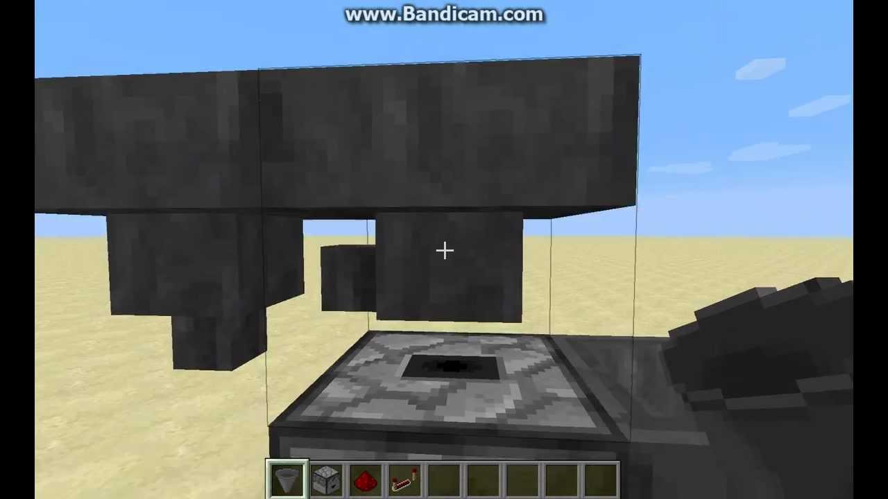 minecraft how to make a hopper