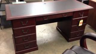 Sauder Heritage Hill Executive Desk - Outlet Sale In Miami