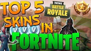Top 5 Des peaux les plus rares dans Fortnite Battle Royale