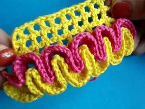 Объёмное вязание крючком
