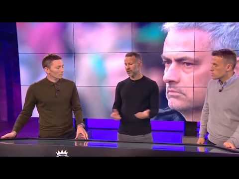 Ryan Giggs & Phil Neville on Manchester United's Season Under Mourinho #MUFC