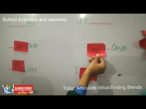 Digraph || Activity || Initial Blends || Ending Blends || LND English