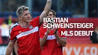 An extended look at bastian schweinsteiger's debut with the chicago fire in mls.subscribe to our channel for more soccer content: http://www./subs...