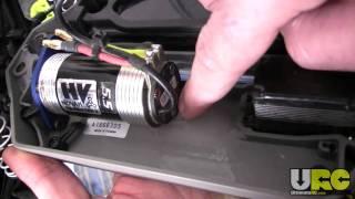 Stampede 4x4, Novak HV / Ballistic 550 motor install mods