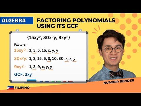 FACTORING POLYNOMIALS USING GCF METHOD | ALGEBRA | PAANO?