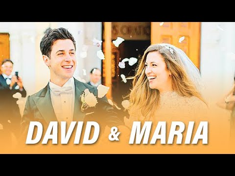 Maria & David Henrie Wedding Compilation  042117