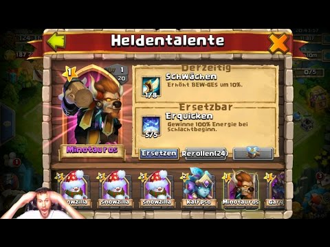 LUCKY Talent Rolls 35000 Gems 16 Lucky Flips We Got The Goods! Castle Clash