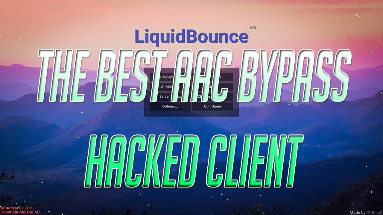 THE BEST AAC BYPASS HACKED CLIENT - (INSANE AAC BYPASS