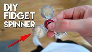 DIY FIDGET SPINNER SELBER BAUEN !
