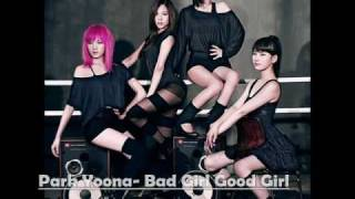 Miss A - Bad Girl Good Girl (cover by Park Yoona)