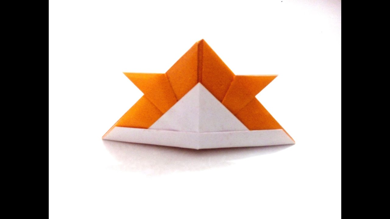 How To Make An Origami Hat Out Of Paper