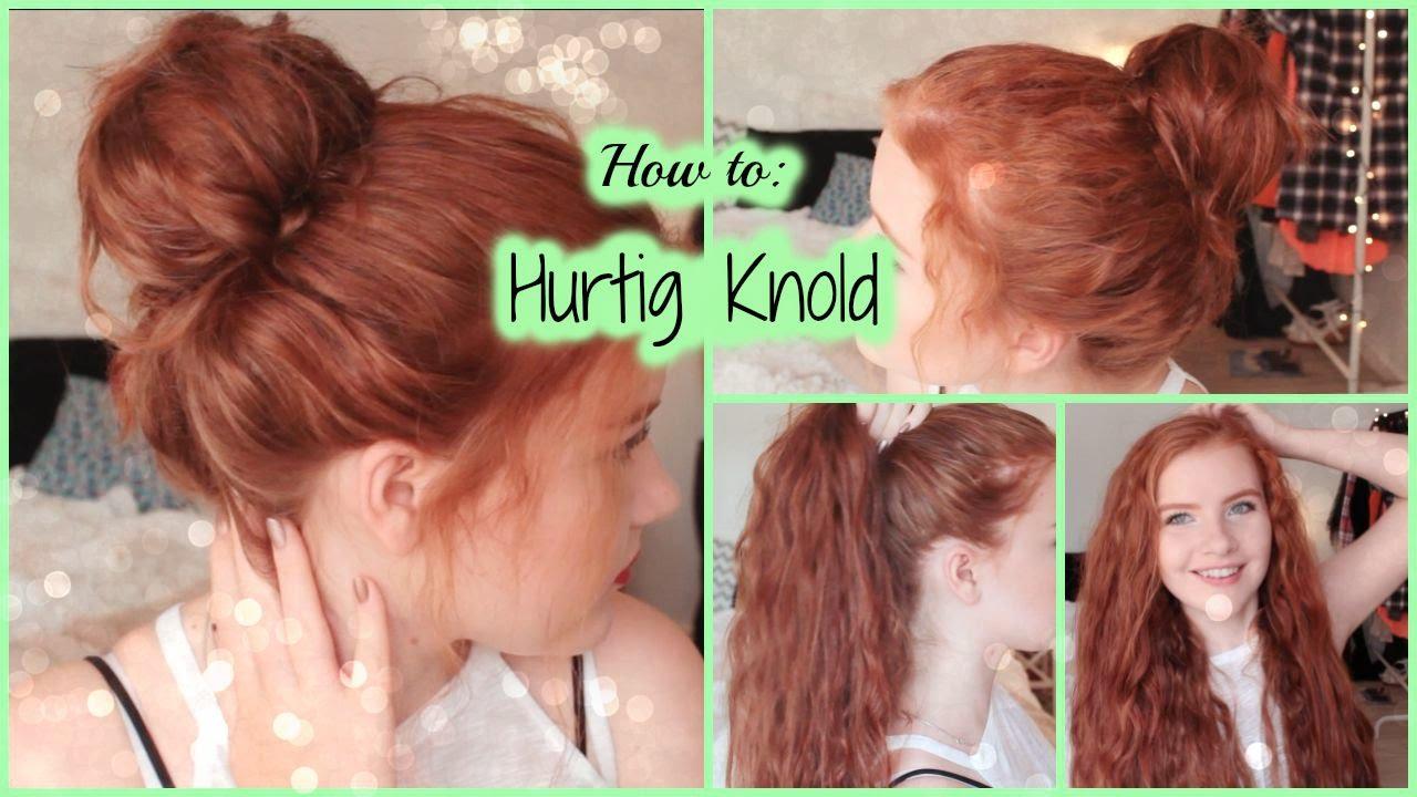 hår knold i nakken