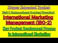 IBO 2 : UNIT 7: NEW PRODUCT DEVELOPMENT  PROCESS: JUNE/DECEMBER TEE EXPECTED Q&A