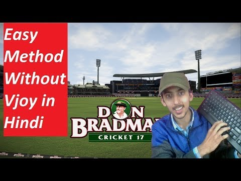 How to Play Don Bradman Cricket 17 With Keyboard (Without Vjoy
