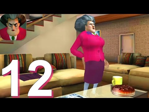 Scary Teacher 3D - Gameplay Walkthrough Part 12 - Miss T Pin Prank (Android, IOS)