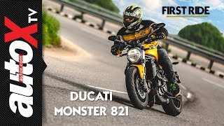Ducati Monster 821 Review | First Ride | autoX