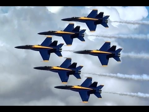 Blue Angels at California Capital Airshow Sacramento, USA