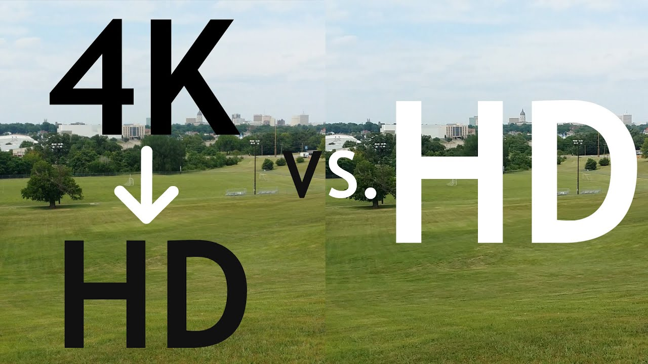 4K Compressed to 1080p VS 1080p: Does it make a difference? - YouTube