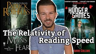 """On the Relativity of Reading Speed"" 