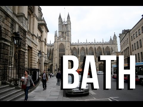 Best places to see in Bath England UK (what to do); top tourist attractions | travel guide video