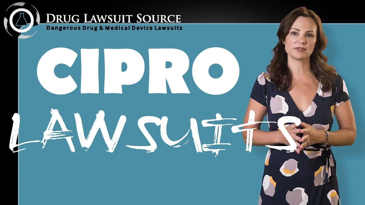 Cipro Lawsuit - How To Sue For Nerve Damage or Peripheral Neuropathy