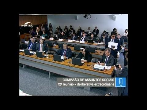 Votações - TV Senado ao vivo - CAS - 25/04/2018
