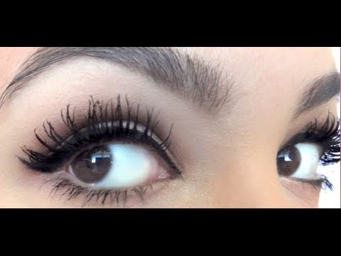 92907a494e2 Perfect Mascara Routine for Huge Long Lashes - YouTube