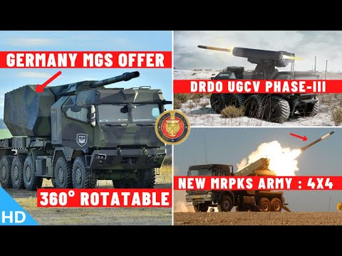 Indian Defence Updates : Germany Offers Next-Gen MGS,UGCV Ph