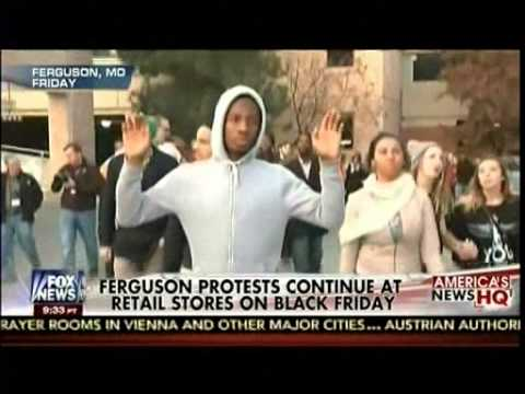 Ferguson Protests Continues At Retail Stores On Black Friday - America's News HQ