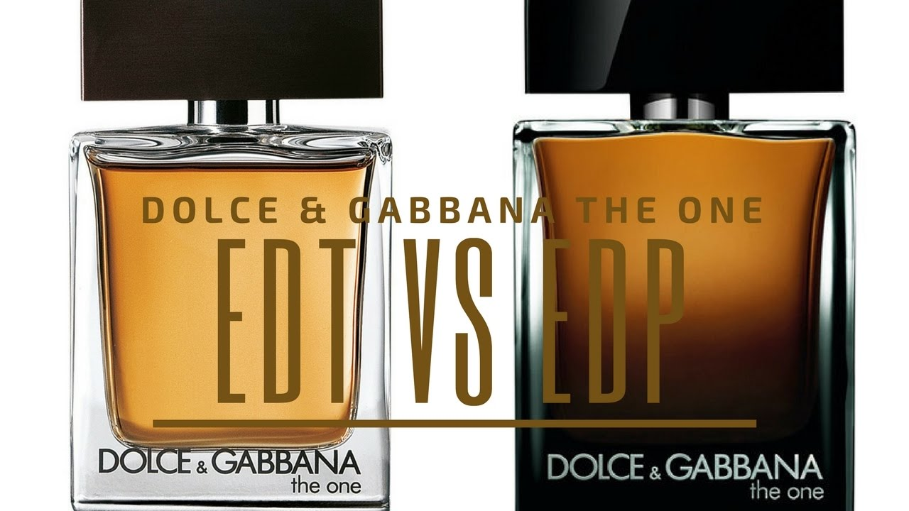 99496377bb635 Dolce   Gabbana The One EDT vs. EDP - YouTube