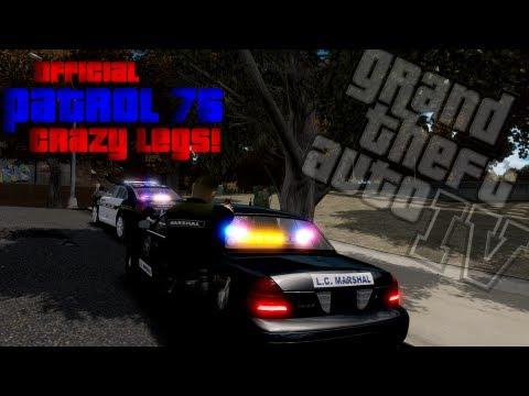 LCPDFR | Patrol #76 - Crazy Legs!