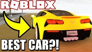 BEST *CHEAP* SUPER CAR in VEHICLE SIMULATOR! (Roblox Vehicle Simulator) #33