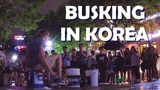 BUCKET DRUMMING IN SEOUL