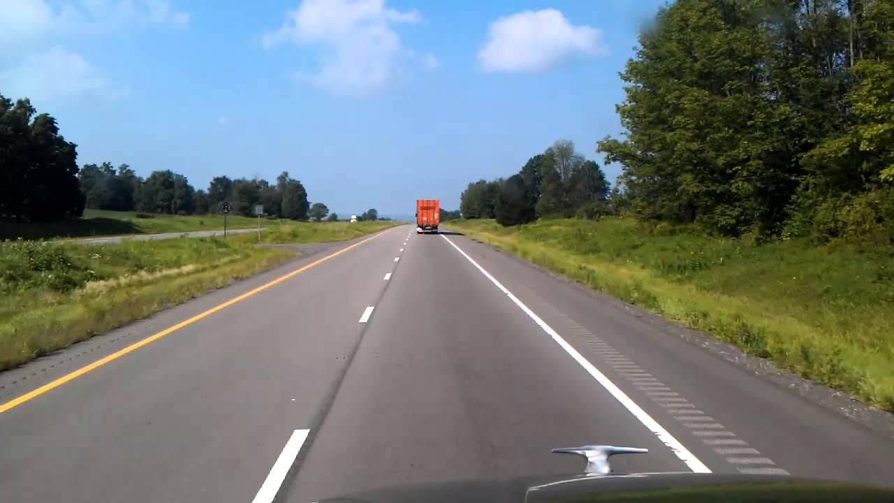 Dalton, Ohio on US Highway 30 West - YouTube