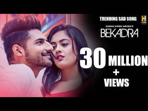 Bekadra Song: Karan Singh Arora Feat. Aditi Sharma | S Mukhtiar | New Punjabi Romantic Song 2019